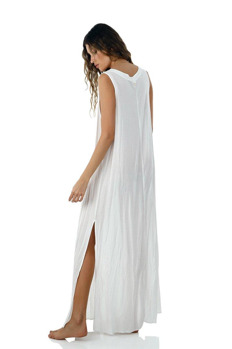 Malai White Playa Maxi Dress