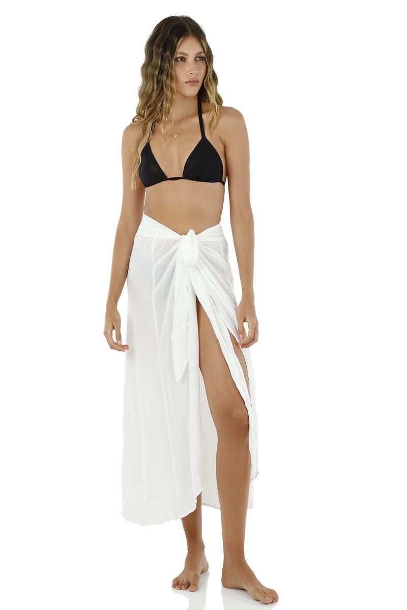 Malai White Rommy Skirt Cover Up