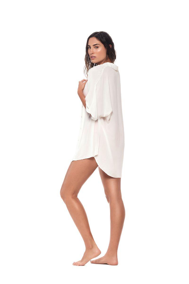 Malai White Twyla Shirt