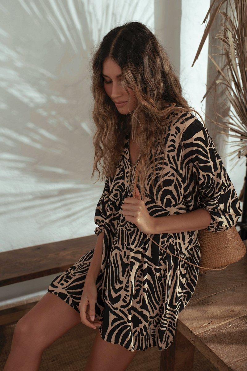 Malai Wild Safari Loner Dress