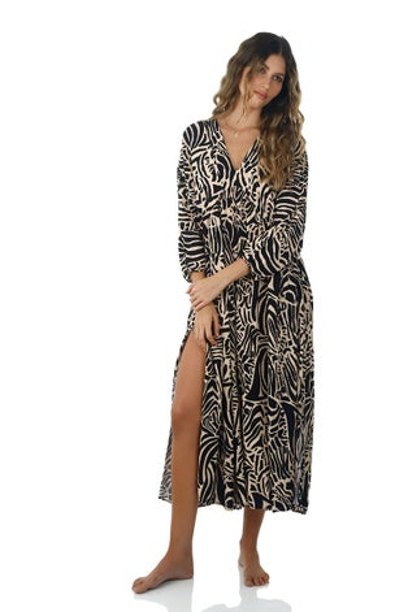 Malai Wild Safari Loner Maxi Dress