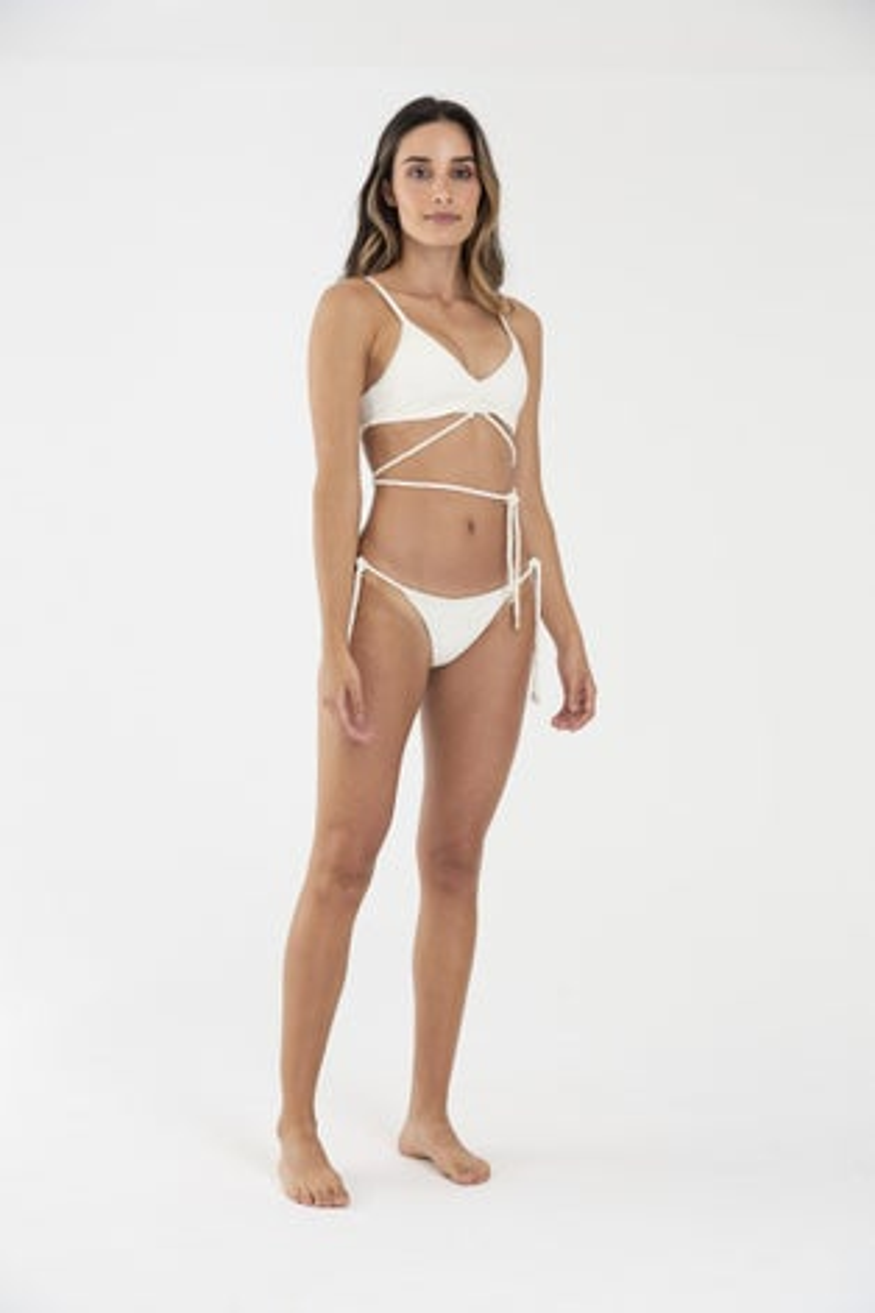 OndadeMar Wonder Viper Cream Donna Rush Bikini Bottom