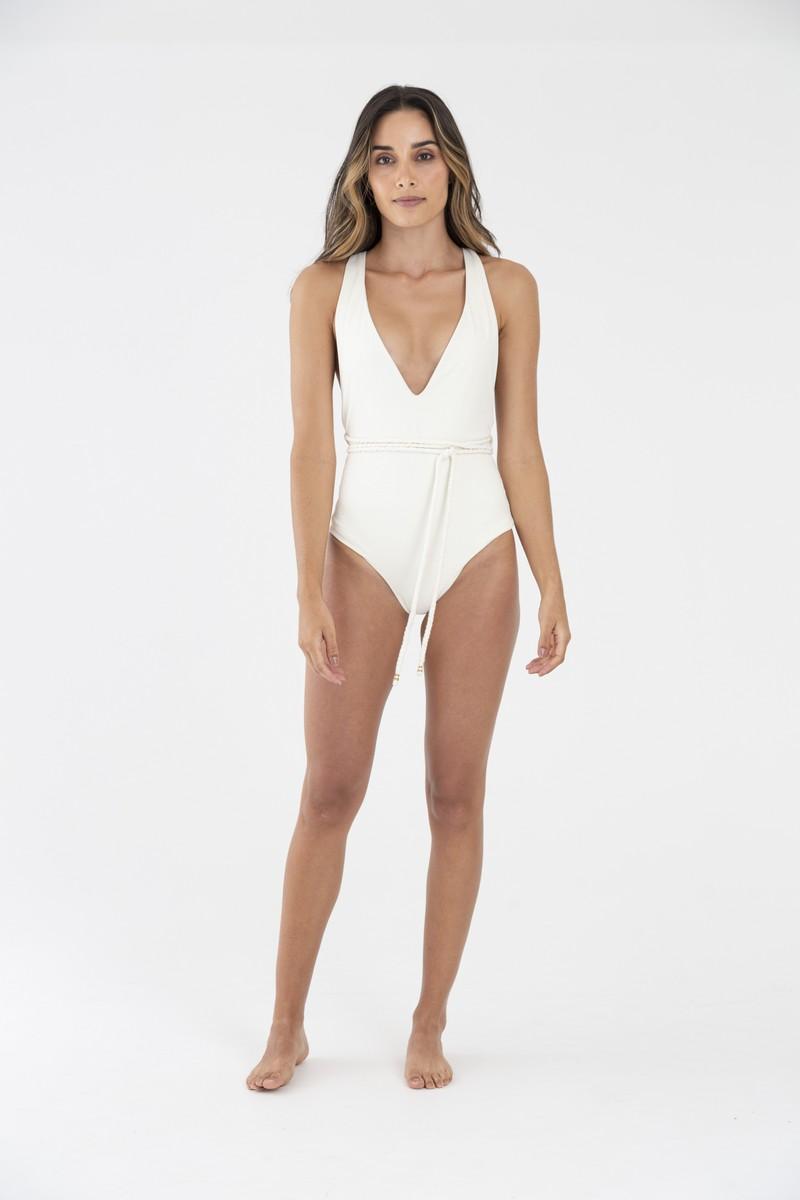 OndadeMar Wonder Viper Cream Lia One Piece Swimsuit