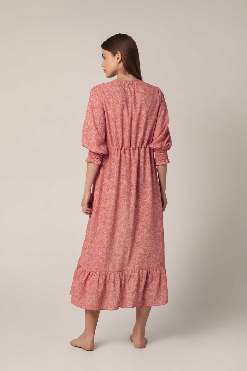 Palmacea Azulejo Maxi Kimono