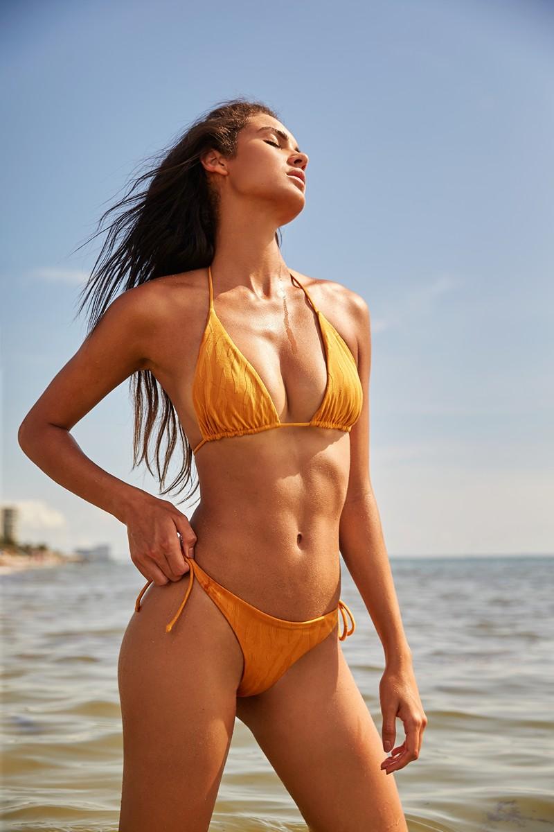 Peixoto Gold Animal Tonie Bikini Bottom