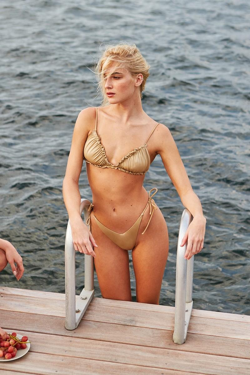 Peixoto Golden Hour Leah Bikini Top