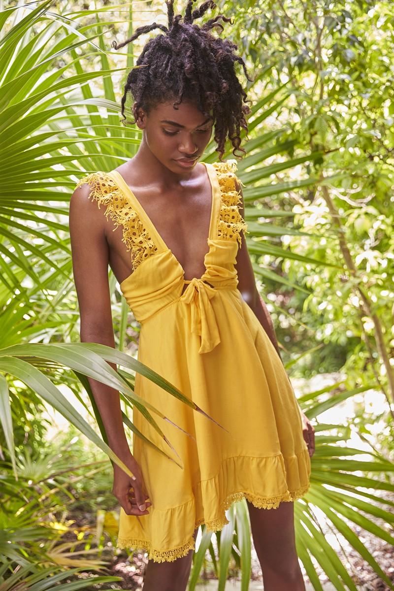 Peixoto Marigold Farrah Dress