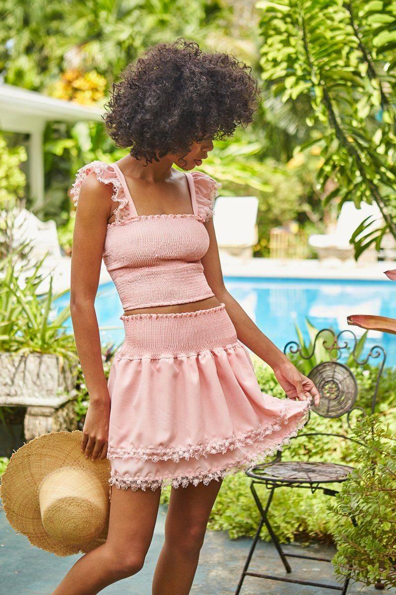 Peixoto Rose Belle Skirt