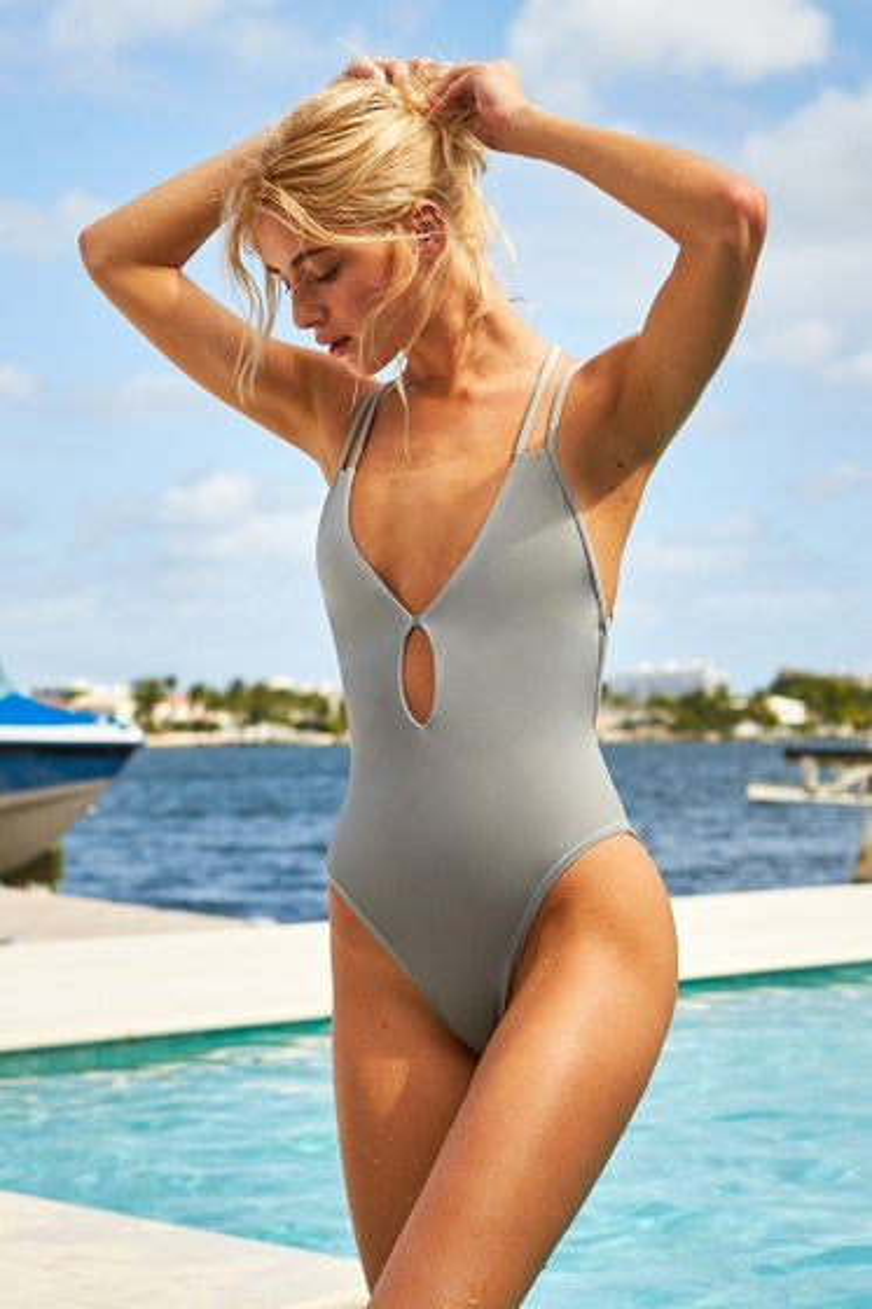 Peixoto Silver Sand Isla One Piece Swimsuit