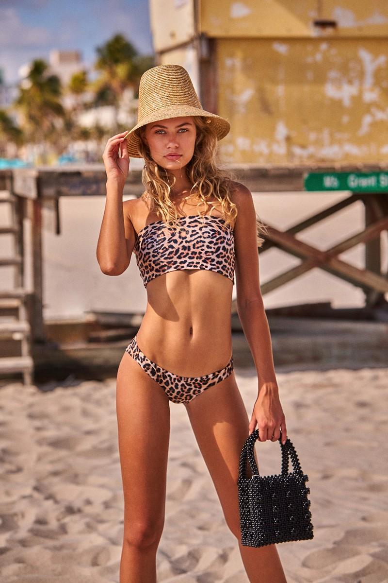 Peixoto Bahia Leopard Bikini Bottom