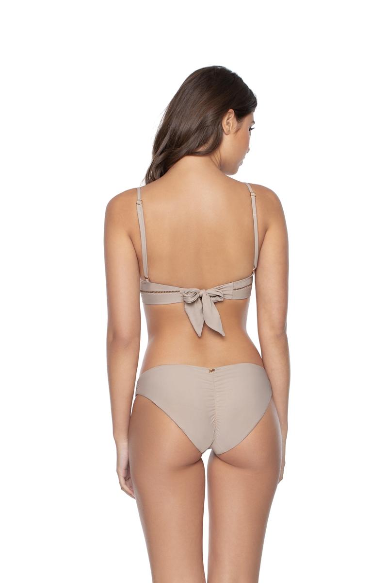 PilyQ Oyster Basic Bikini Bottom