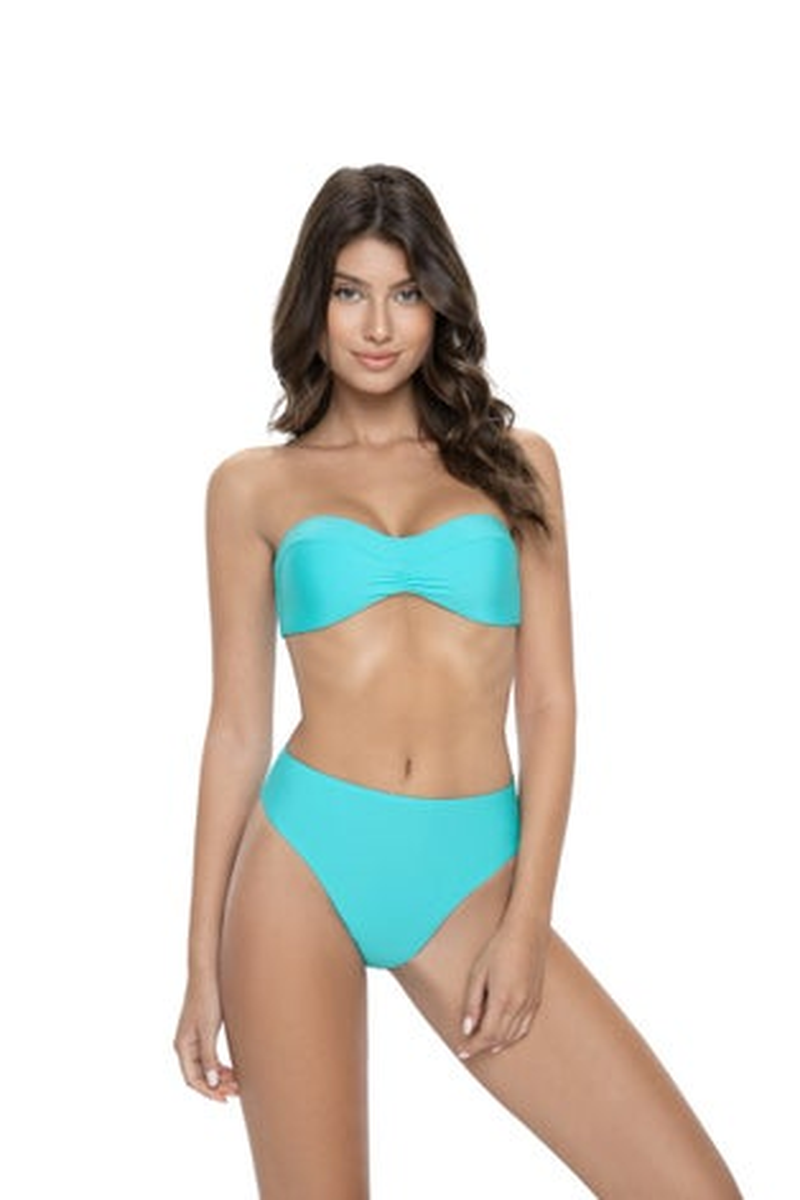 PilyQ Saltwater Hilary High Waist Bikini Bottom