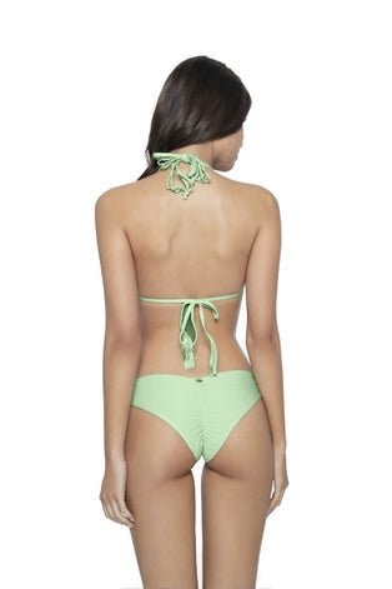 PQ Swim Aloe Basic Ruched Bikini Bottom