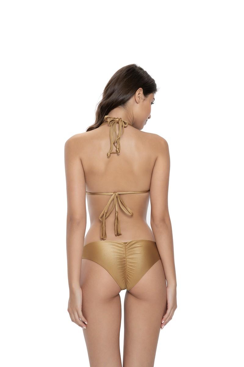 PQ Swim Cliff Basic Ruched Bikini Bottom