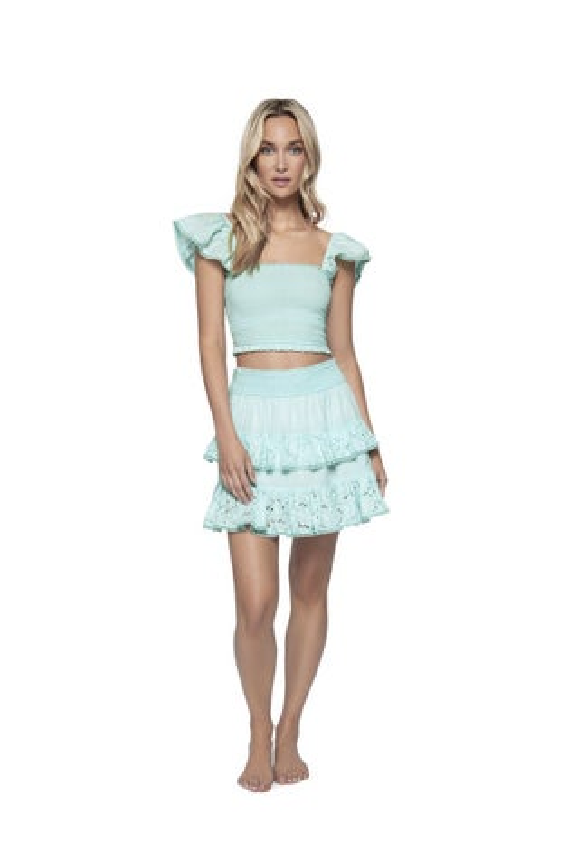 PQ Swim Divine Ari Eyelet Skirt