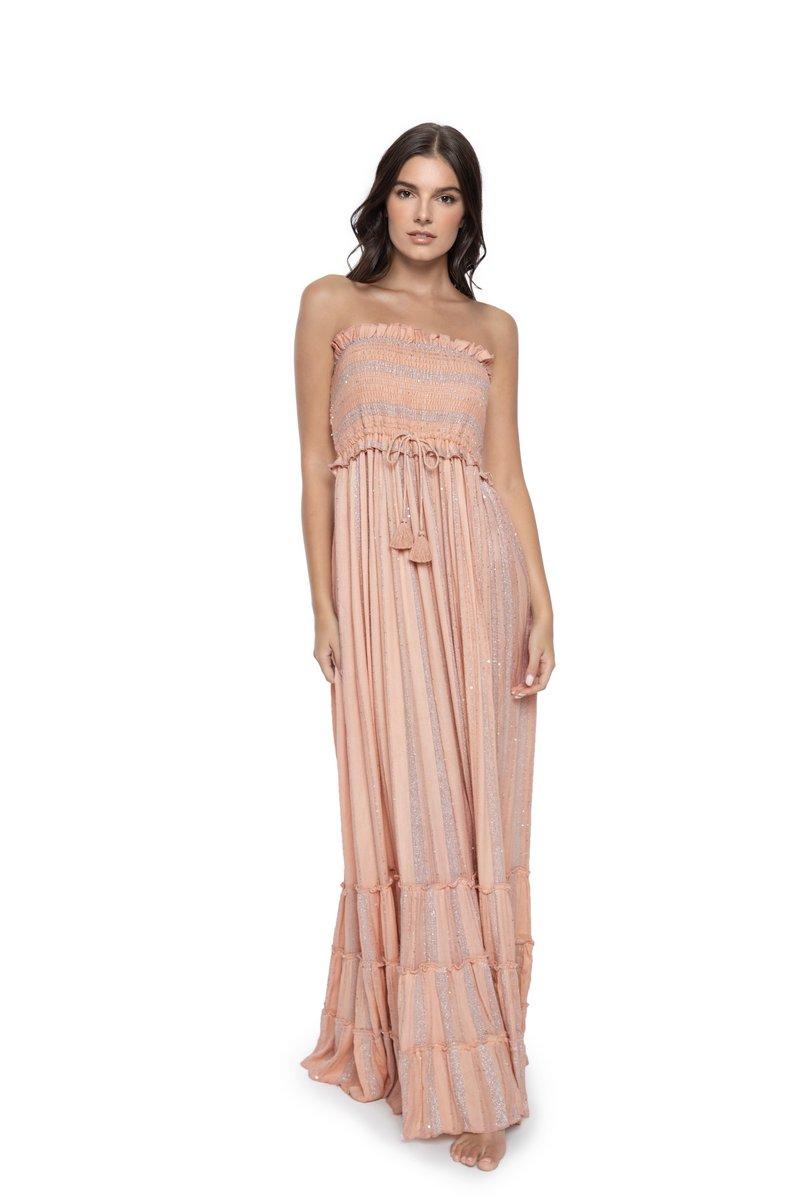 PQ Swim Pink Sands Charlotte Maxi Dress