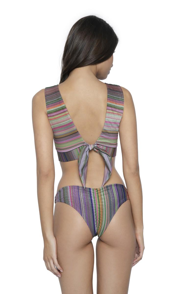PQ Swim Retrograde Basic Ruched Bikini Bottom
