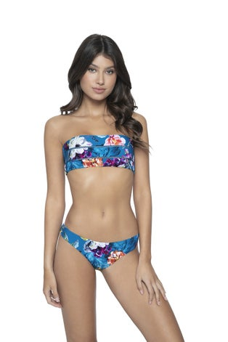PQ Swim Spiritual Bloom Aimee Stitched Bandeau Top