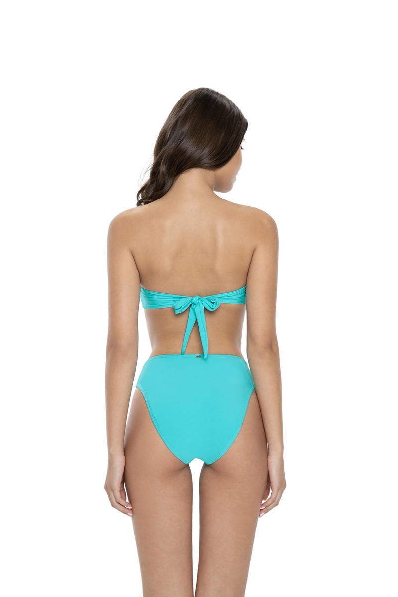 PilyQ Saltwater High Waist Bikini Bottom