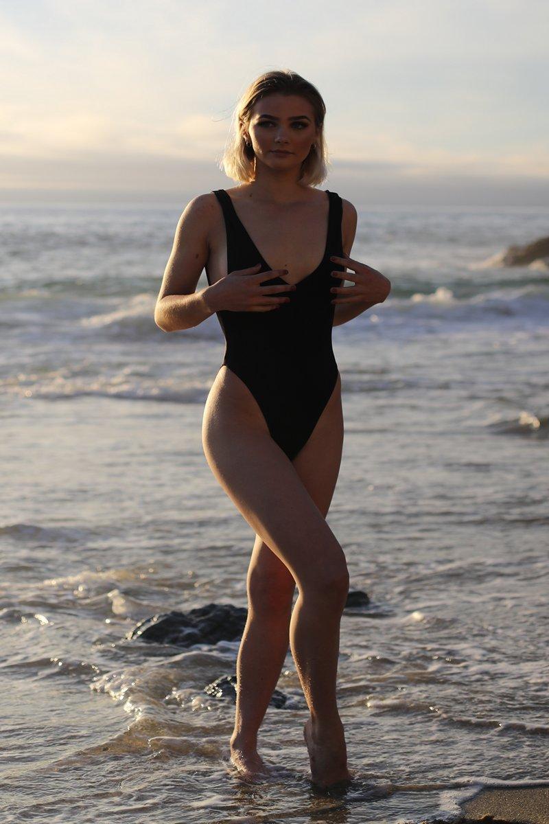 Slate Swim Black Spectrum One Piece Swimsuit