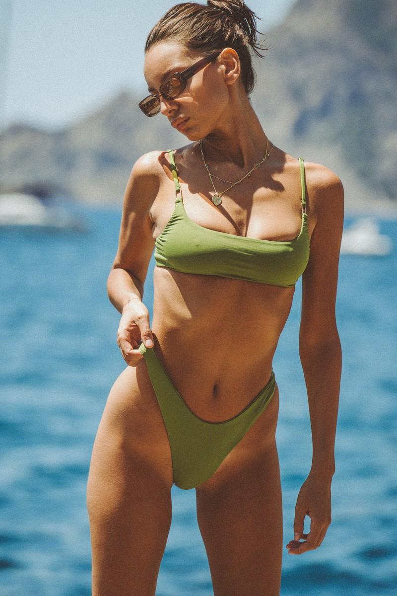 Slate Swim Jade Bikini Bottom