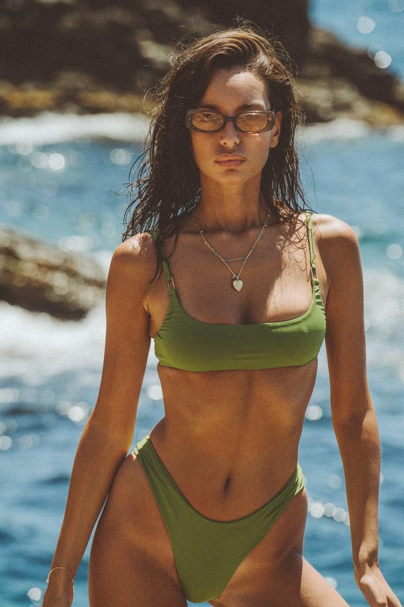 Slate Swim Jade Bikini Top