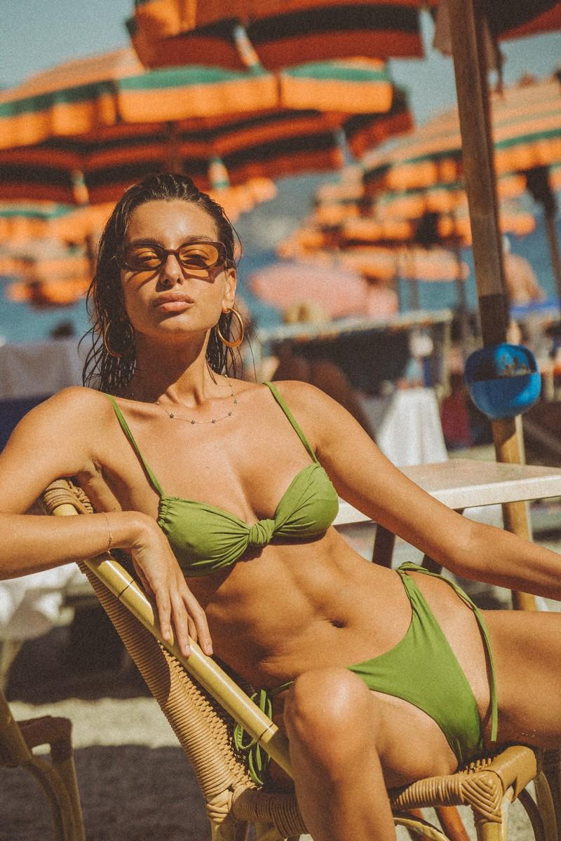 Slate Swim Leo Bottom in Jade