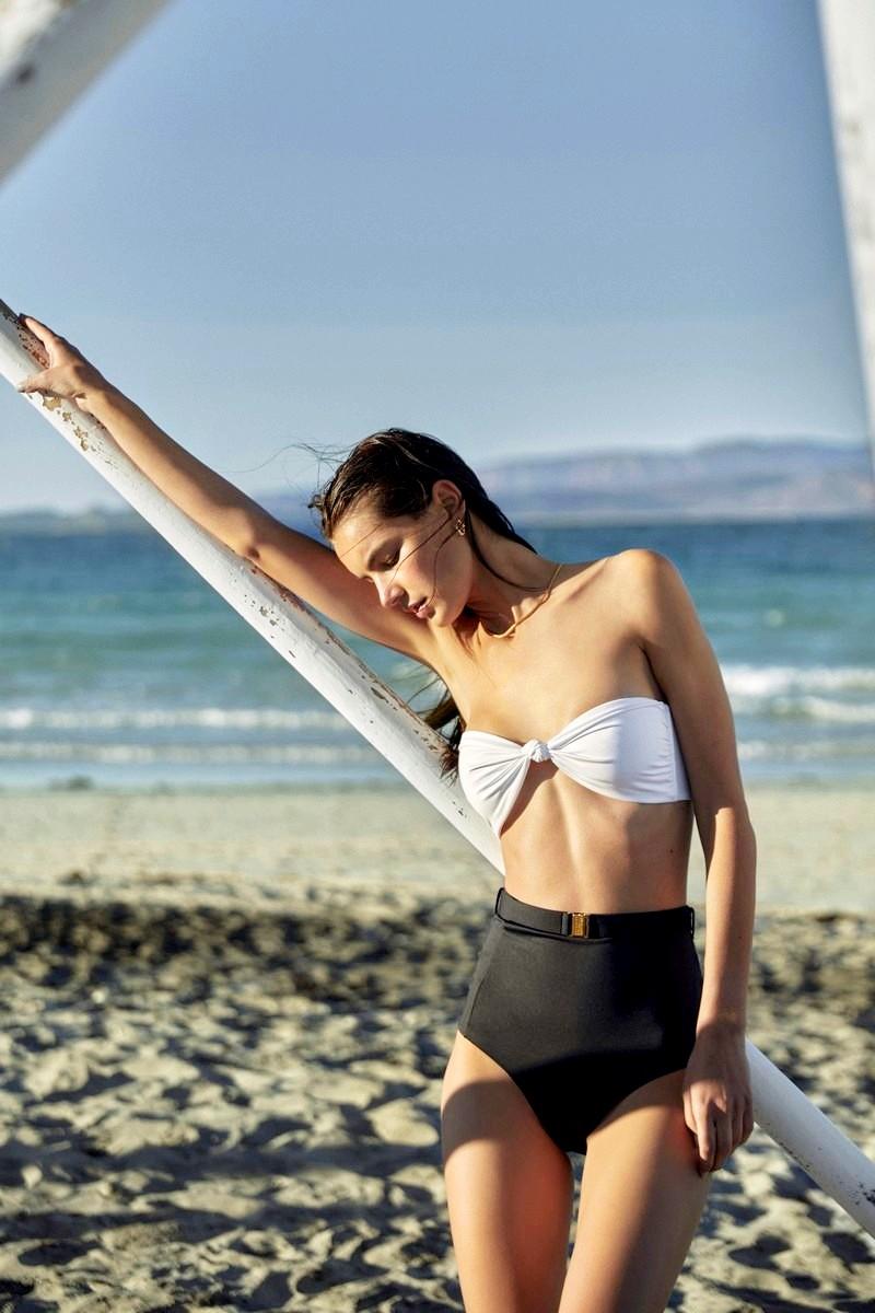 Verdelimon Caribe Bandeau Bikini Top