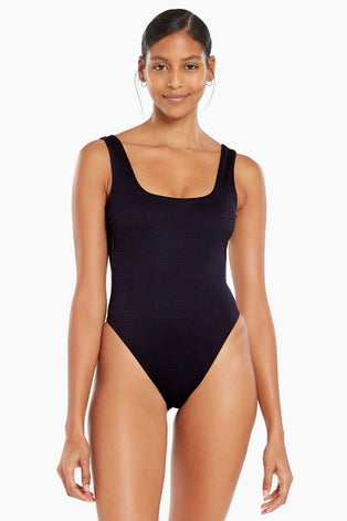 Vitamin A Black EcoTex Reese One Piece Swimsuit