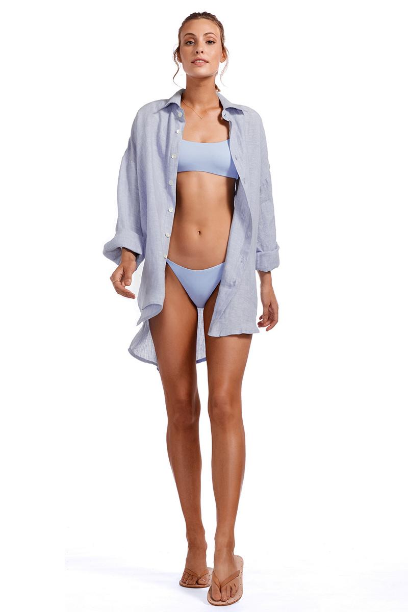 Vitamin A Celeste Playa Shirt Dress
