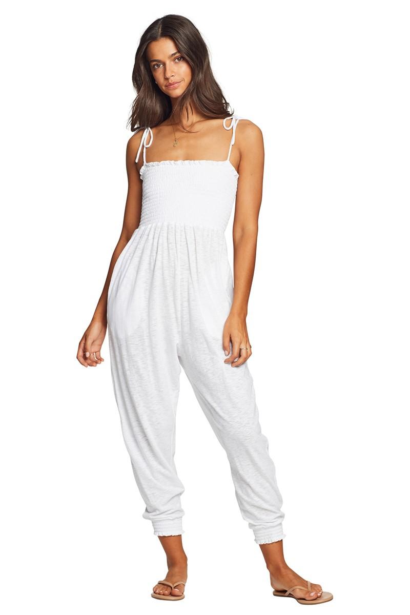 Vitamin A EcoCotton White Moonlight Jumpsuit