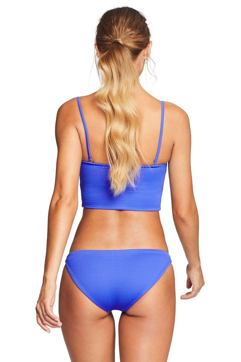 Vitamin A EcoTex Spa Blue Ava Bikini Top