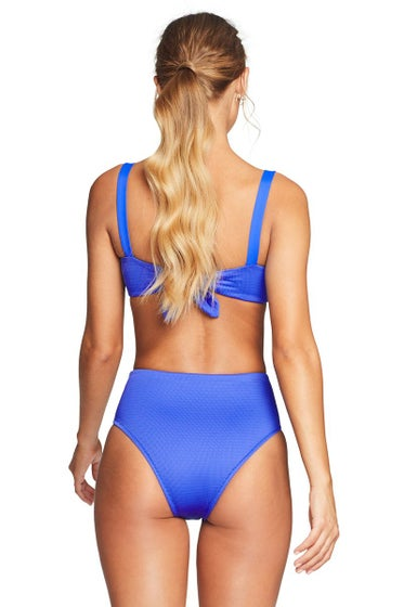 Vitamin A EcoTex Spa Blue Barcelona Bikini Bottom