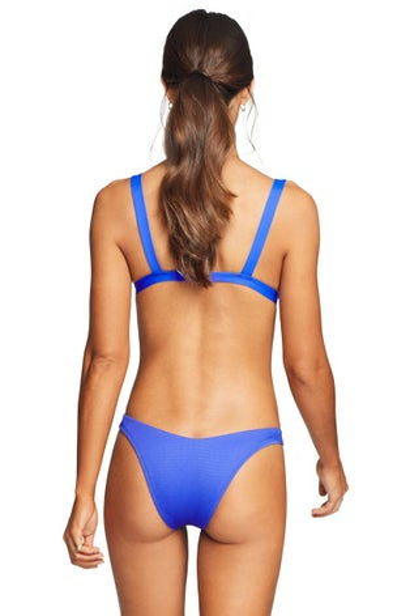 Vitamin A EcoTex Spa Blue Cheryl Bikini Top