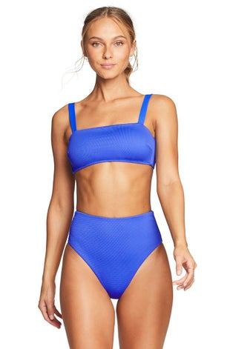 Vitamin A EcoTex Spa Blue Nico Bikini Top