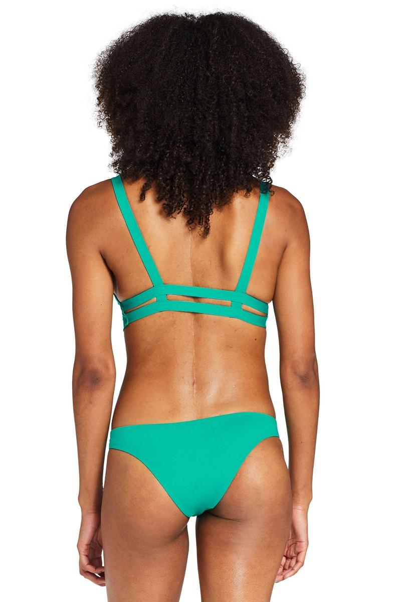 Vitamin A Emerald EcoLux Neutra Bralette Bikini Top