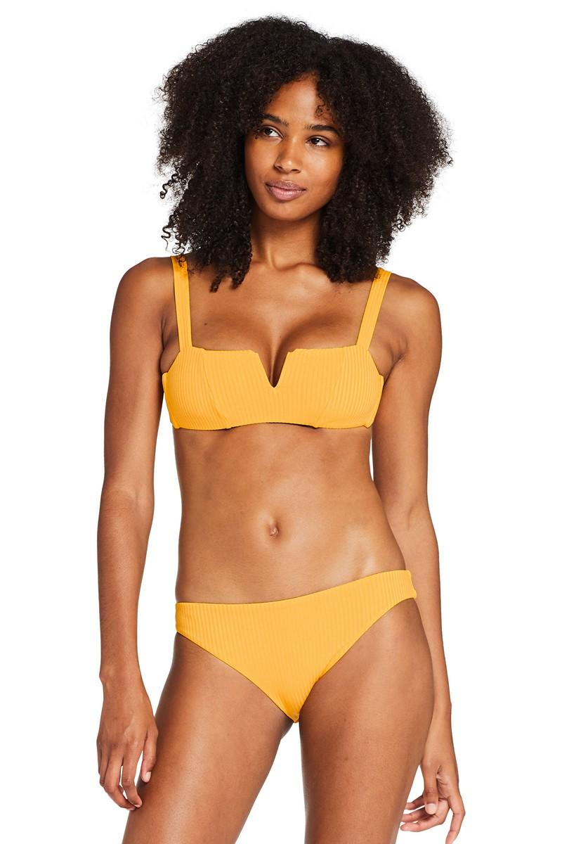 Vitamin A Iced Mango EcoRib Kaya Bikini Top