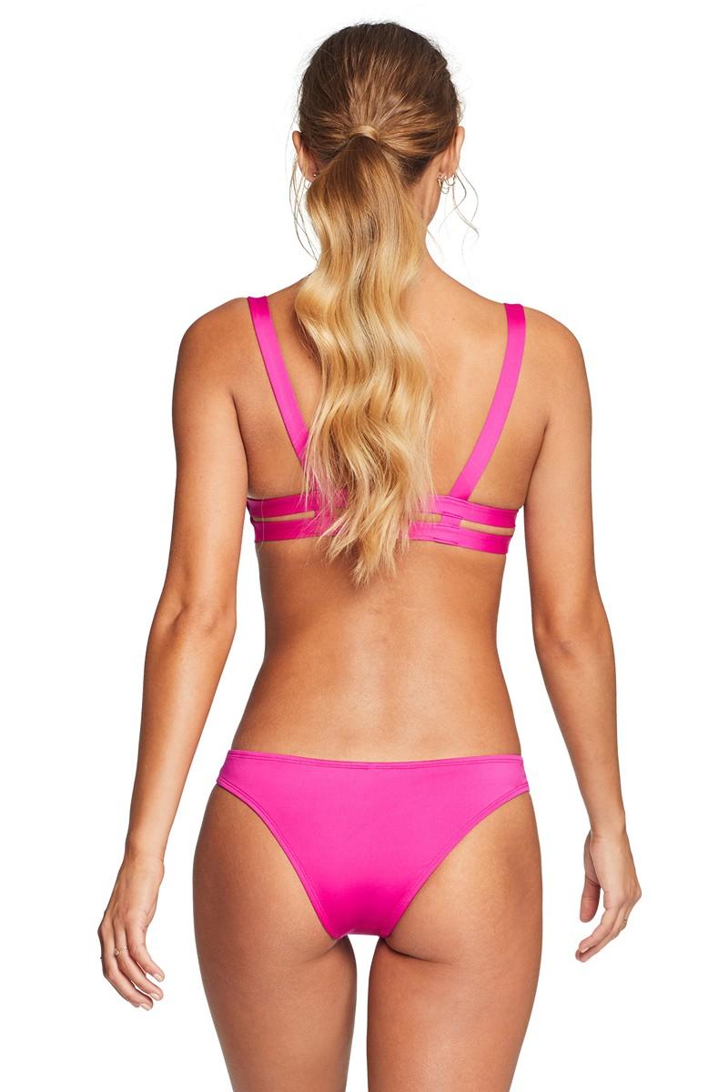 Vitamin A Neutra Hipster Bikini Bottom in Magenta