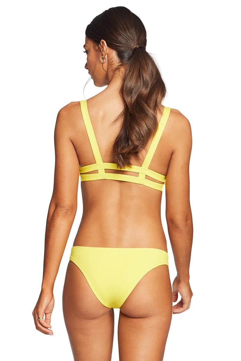 Vitamin A Neutra Hipster Bikini Bottom in Yellow