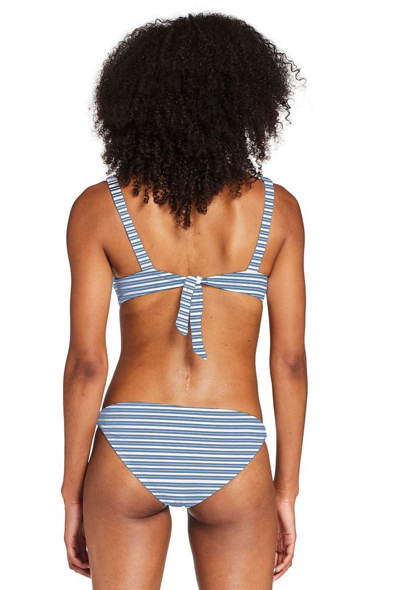 Vitamin A Sardinia Stripe Demi Bikini Top