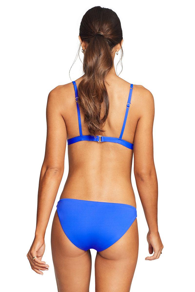 Vitamin A Spa Blue Luciana Bikini Bottom