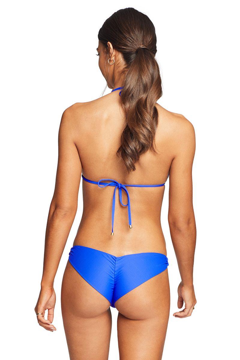 Vitamin A Spa Blue Samba Ruched Back Bottom