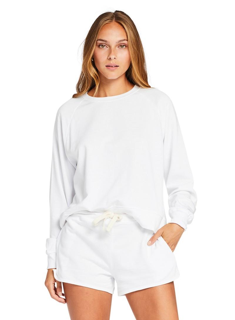 Vitamin A White EcoSoft Cotton Hemp Shorts