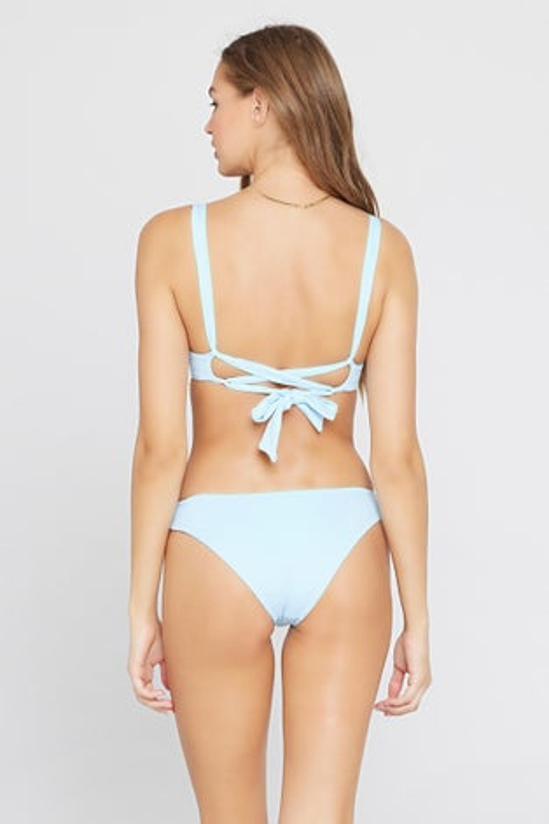 L*Space Sky Blue Sandy Bikini Bottom