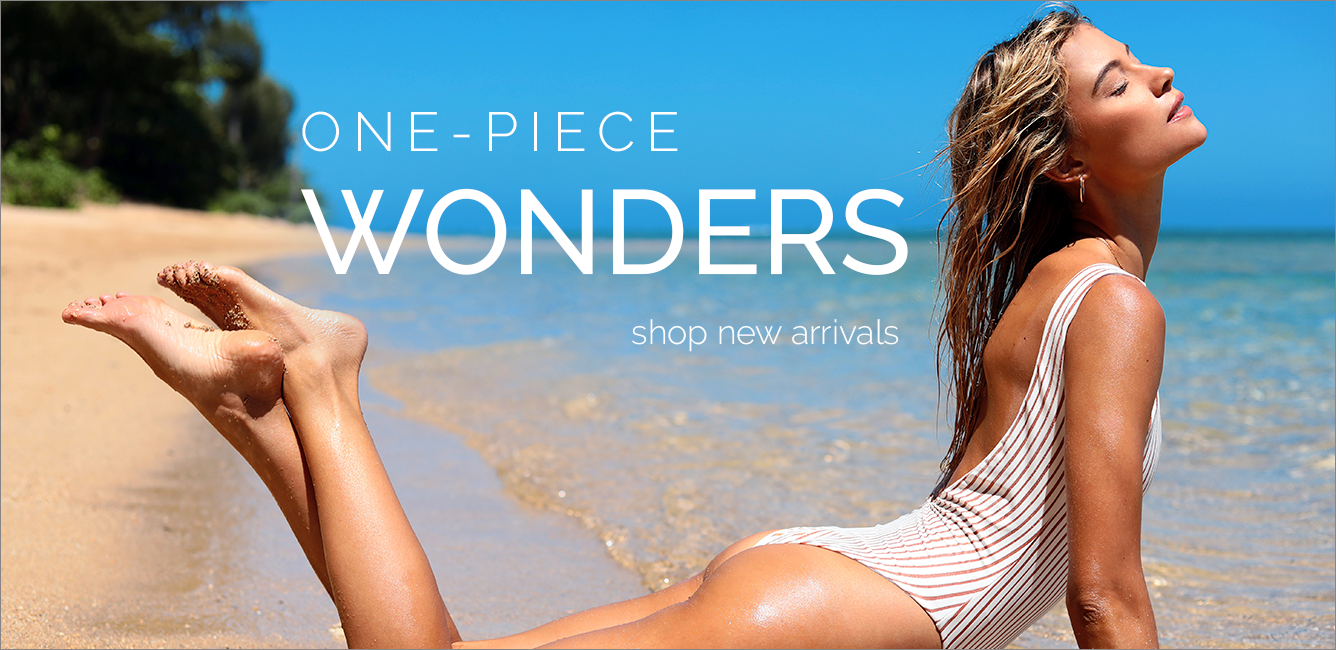 Shop New One Piece Swimsuits
